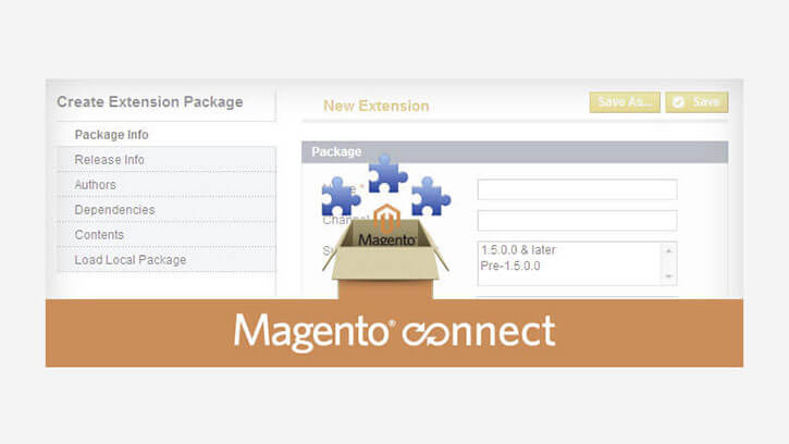 Creating Magento Connect Extension Package